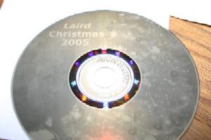 Christmas 2005 with Lightscribe