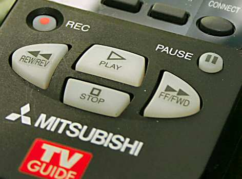Mitsubishi TV remote