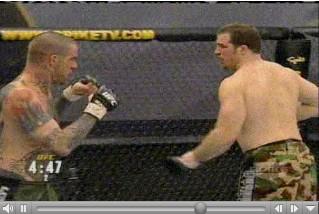 Matt Hamill playing at UFC Ultimate Fighting
