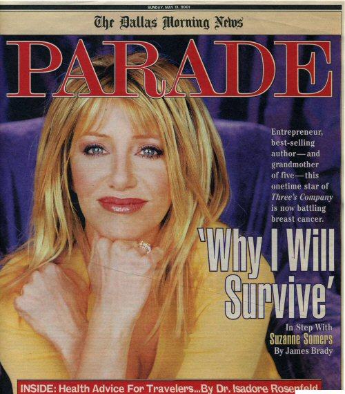 Parade Magazine - May 13, 2001 Cover